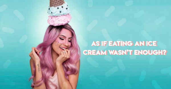 Wait, WHAT? Ice Cream Makeup Is Blowing Up Instagram!