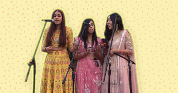 Forget A Sangeet Dance! This Bridal Crew Did Something SO Cool