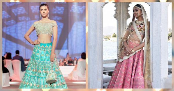 4c56816832 How Much Do These Designer Lehengas Really Cost?! | POPxo