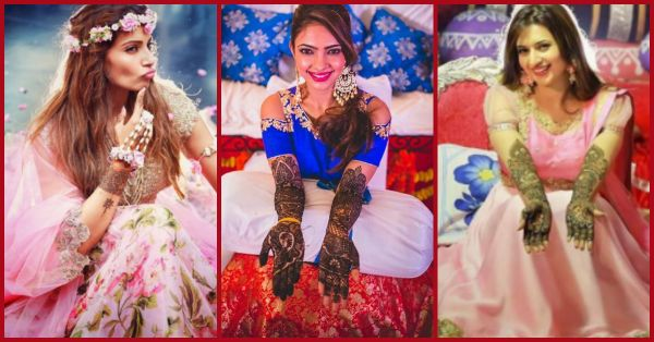 8 Celebrity Brides & Their *Oh-So-Beautiful* Mehendi Designs!