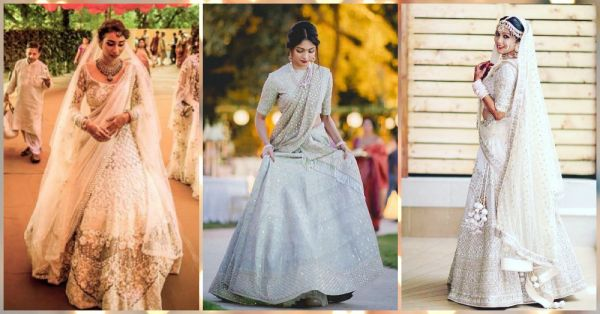 10 White Bridal Lehengas That Look *Better* Than Red!