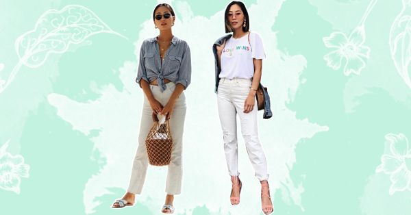 Wondering How To Style Your White Jeans? We Know 9 FAB Ways!