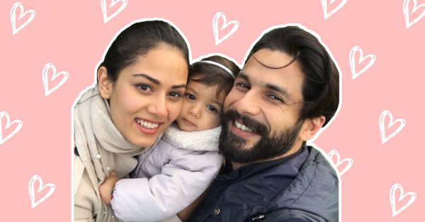 Shahid Kapoor's Pictures With Baby Misha Will Make You Go Aww!
