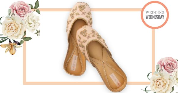 #WeddingWednesdays - The ONLY Juttis You Need In Your Bridal Trousseau!