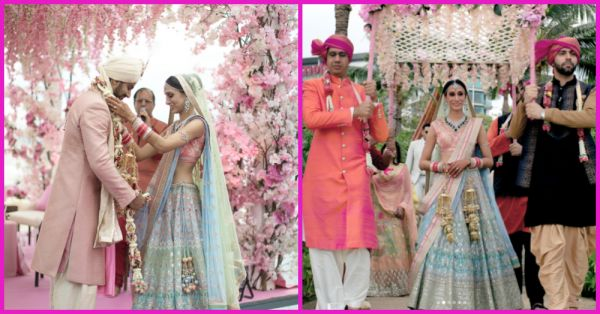 This Pastel Bridal Lehenga Is Just What *Dreams* Are Made Of!