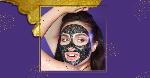 This Glitter Face Mask Is The Most Beautiful Thing You'll See Today!