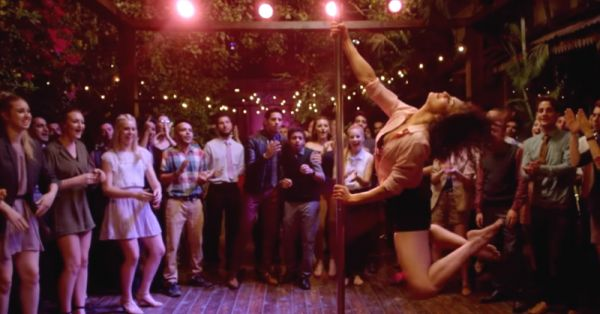 Pole Fitness Is The Latest Trend And We're SO Onboard!