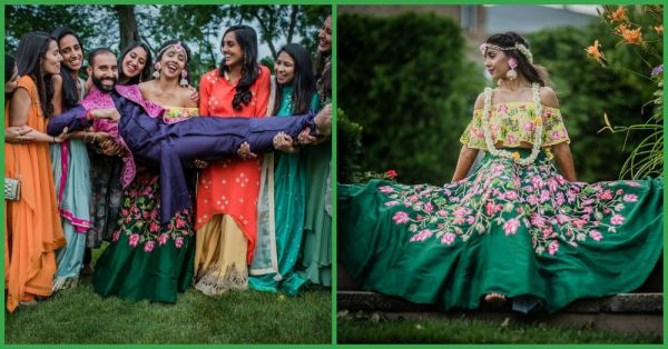 Colourful Outfits & Loud Cheer… This Mehendi Celebration Was One Hell Of A Party!