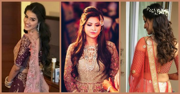 Indian Wedding Hairstyles 15 Amazing Hairstyle For Every Bride Popxo