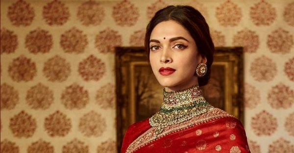 Sabyasachi bright red lehenga for deepika padukone |