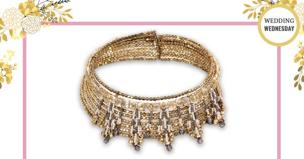 #WeddingWednesdays - We Found A Choker That's Just *Perfect* For Your Mehendi!
