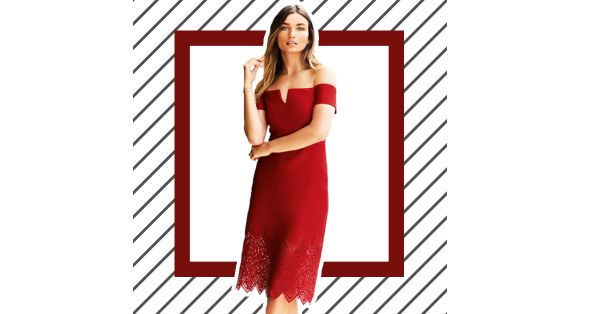 Save, Spend, Splurge: The Best Little Red Dress In Your Budget!