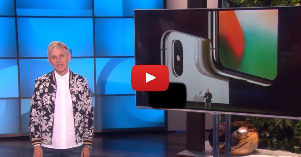 'X Stands For Expensive' - Ellen's Take On The New iPhone Is Just Too Funny!