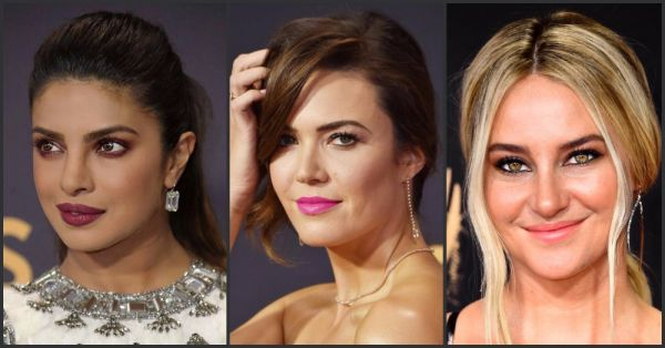 #Emmys2017: These Red Carpet Make-up And Hair Looks Are Totally Worth A Double Take!