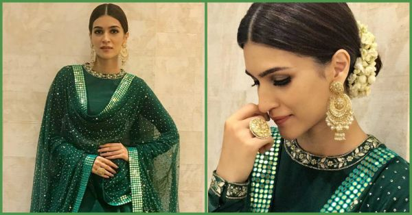 Kriti Sanon's Festive Look Is Every Desi Girl's Guide To Looking Fab This Season!