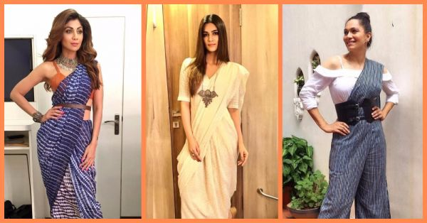 All The Saree Style Inspiration You Need To Bring In The Festivities!