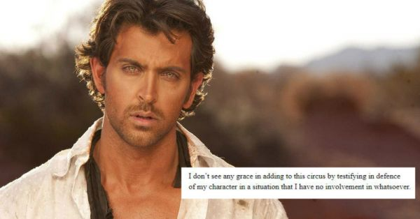 Hrithik Roshan Writes About His Alleged Affair With Kangana!