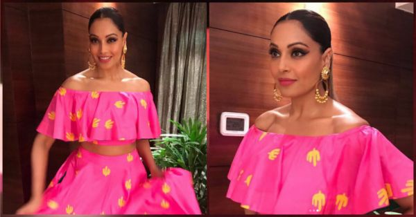 Bipasha Basu's Easy Breezy Pink Outfit Is All Kinds Of Festive Pretty!