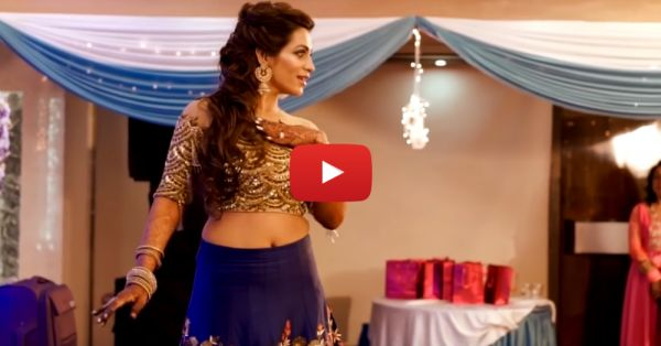 This Bride *Actually* Did A Belly Dance At Her Sangeet & It's Unbelievable!