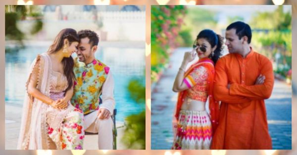 12 Couples Who Showed Us How To Coordinate Shaadi Outfits!