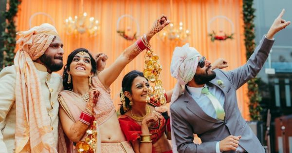 Childhood Friends To Lifelong Partners - This Delhi Wedding Was All Kinds Of Adorable!