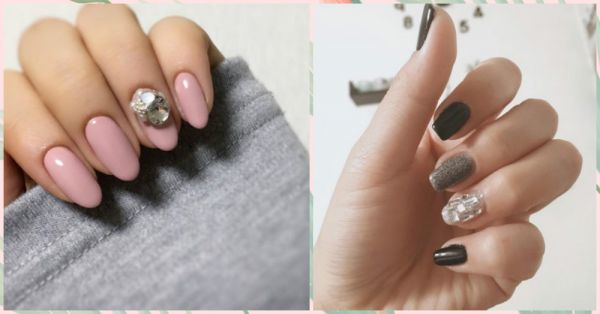 Bedazzle Everyone With These Jewel Nails At The Next Diwali Party!