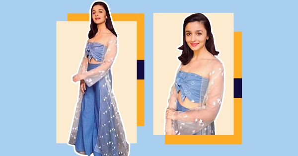 Get The Look: Alia Bhatt's Fusion Wear Style!