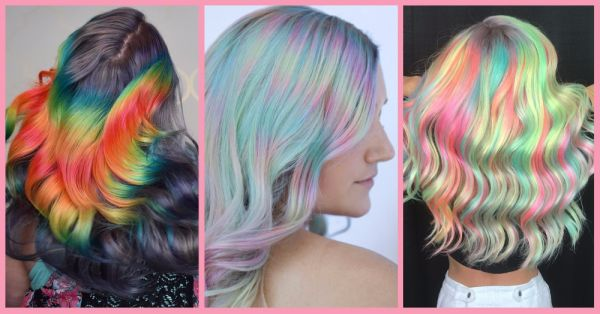 Colour Misting Is The Haute New Hair Colour Technique That's Finally Going To Inspire You To Go Rainbow!