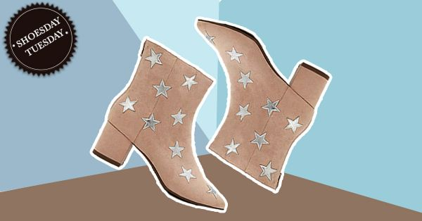#ShoesdayTuesday: Wear Stars On Your Feet With These Ankle Boots!