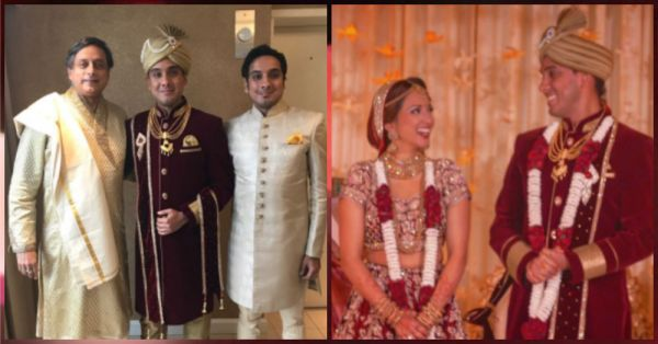 Shashi Tharoor's Son Recently Got Married & The Pictures Are Just FABULOUS!