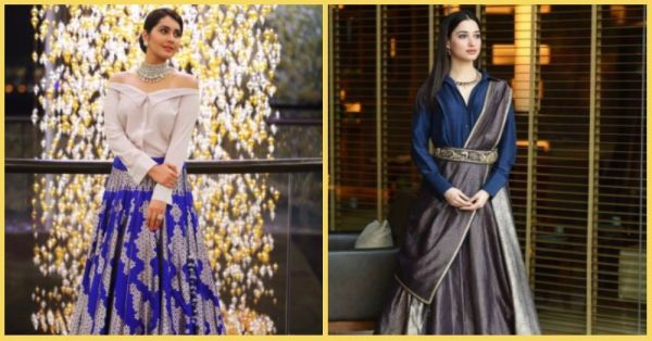 8 Celeb Approved Ways To Pair Your Lehenga Skirt With A *Shirt*