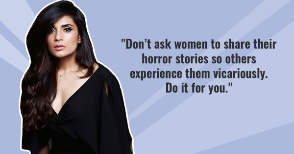Richa Chadda Asks 'Shouldn't We All Be Ashamed?' & She Has A Point