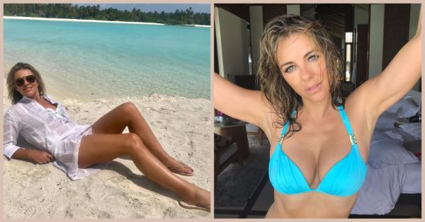 Elizabeth Hurley Is Holidaying In The Maldives & She Looks AMAZING!