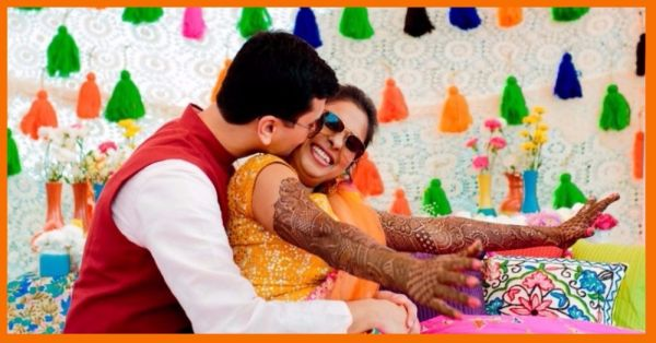 All Things Pretty & Bright - This *Stunning* Mehendi Ceremony In The Hills Is LOVE!