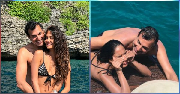 These Pics From Lisa Haydon's Tropical Wedding Anniversary Are Nothing But LOVE!