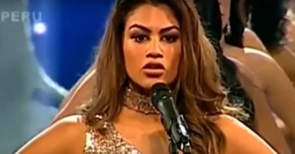 Miss Peru Contestants Sharing Vital Stats Of Violence Against Women Is Bold & Beautiful
