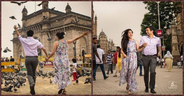 This Couple's Pre Wedding Shoot On The Streets Of Mumbai Shows How REAL Love Is!