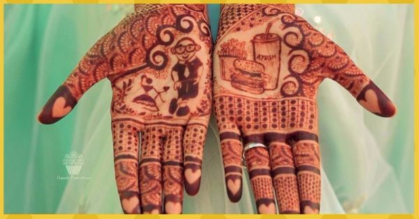 Peacock Motifs No More - Here Are 6 *Unique* Mehendi Designs We Spotted On Real Brides!