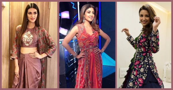 7 Times Bollywood Girls Paired Their Desi Outfit With A Jacket & It Worked!