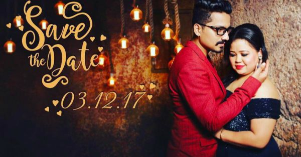 Laughter Queen Bharti Singh Posted A 'Save The Date' Picture & It's Hilarious!