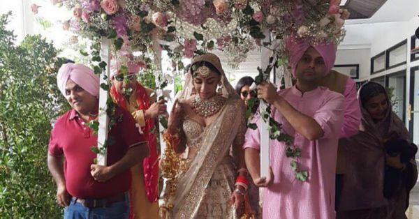 The 'Aisha' Actress Just Got Married & Her Big Fat Punjabi Wedding is #ShaadiGoals!