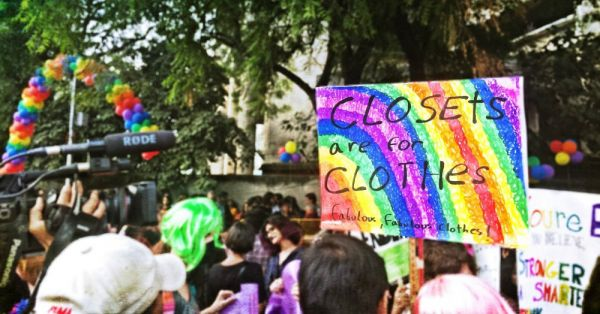 Delhi's Queer Come Out To Celebrate At The 10th Pride Parade 2017!