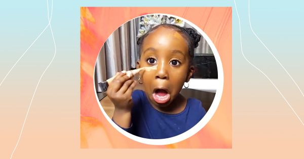 Children's Day Special: This 4-Year-Old Shows Us How Have Fun With Make-Up!