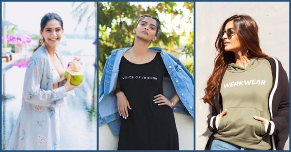 7 Times Sonam Kapoor Wore Her Own Brand & Owned It!