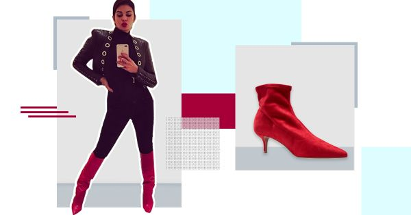 Fashion Girls Can't Get Enough Of This... Red Boots