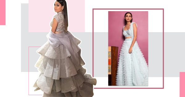The Ruffled Lehenga Trend Will Make You Look Like A Disney Princess!