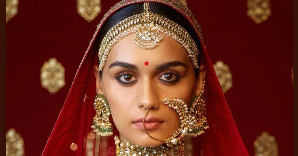 Sabyasachi Dressed *Miss World* Manushi Chillar As A Bride & The Pictures Are Gorgeous!