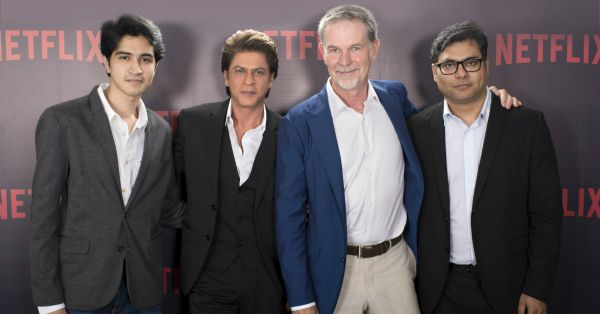 SRK Partners With Netflix For A New Series Based on The Book, 'Bard of Blood'