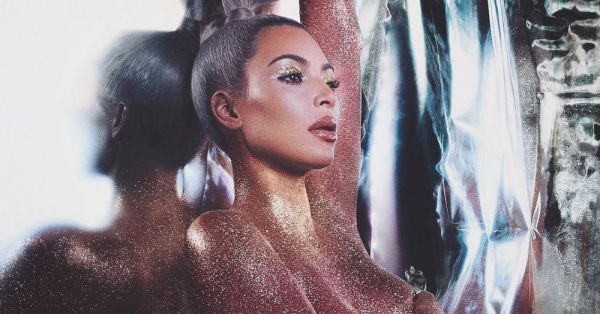 You NEED Kim's New Metallic KKW Beauty Lip Kit For A *Stunning* NYE Party Look!