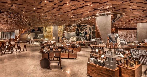 Starbucks Opens Up Its Biggest Store In China